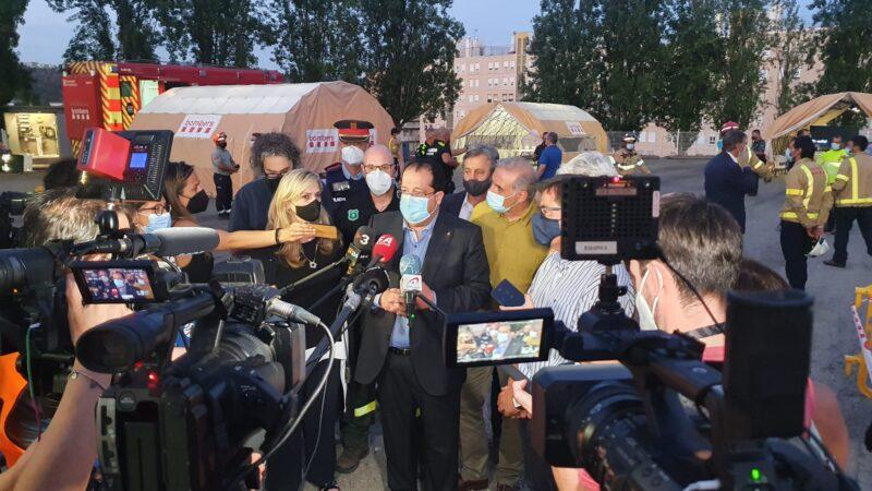 La Bustia declaracions conseller interior incendi Castellvi Martorell 13 juliol 2021