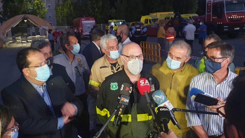 La Bustia declaracions incendi Castellvi Martorell 13 juliol 2021