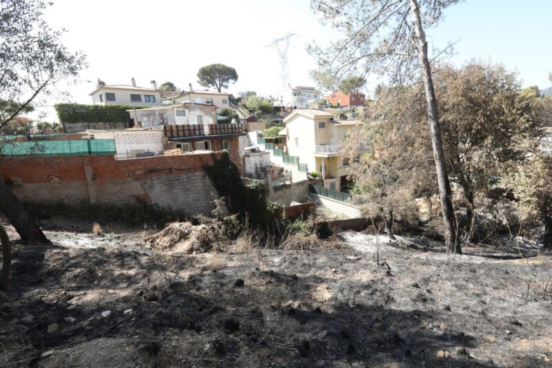 La Bustia diputats alcaldes regidors visita 17 juliol incendi Castellvi Martorell 6