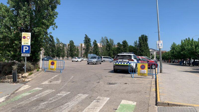 La Bustia esplanada mercat setmanal Sant Andreu