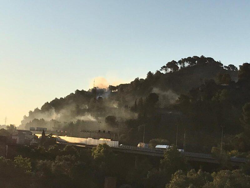 La Bustia incendi Castellvi Martorell 14 juliol 2021