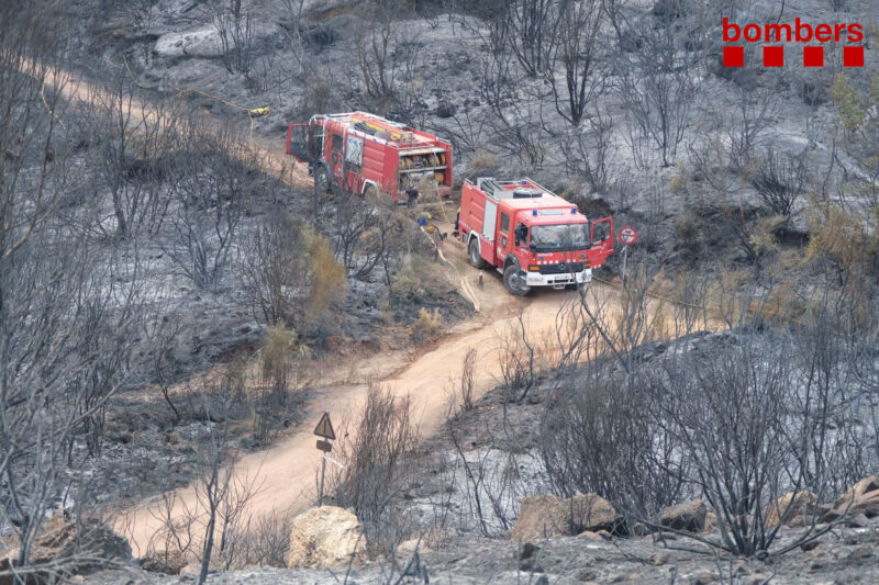La Bustia incendi Castellvi Martorell 15 juliol 2021 1
