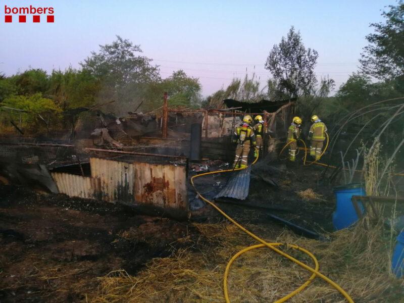 La Bustia incendi Castellvi