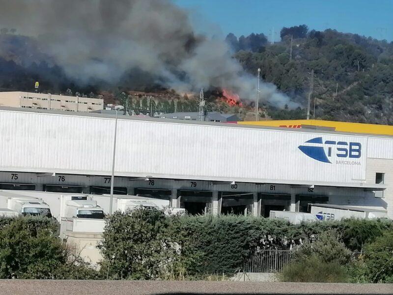 La Bustia incendi Marotrell Castellvi