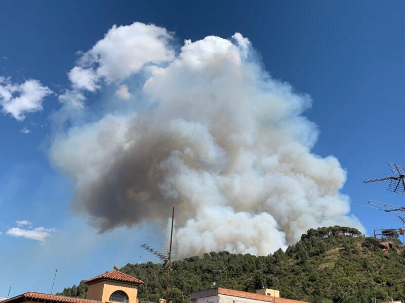 La Bustia incendi Martorell 13 juliol 2021 2