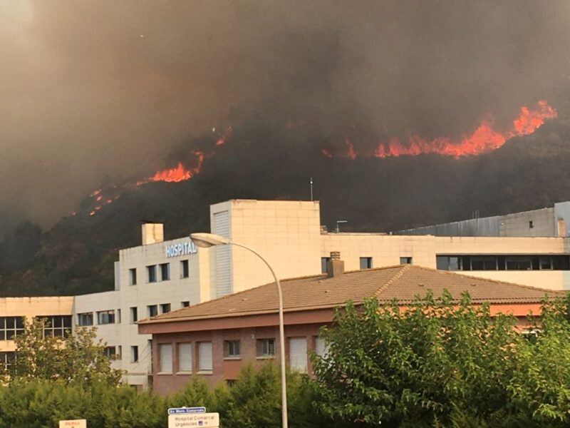 La Bustia incendi Martorell 13 juliol 2021 3