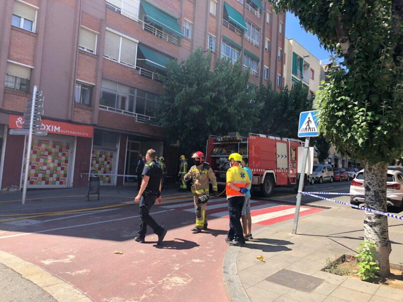 La Bustia incendi Sant Andreu