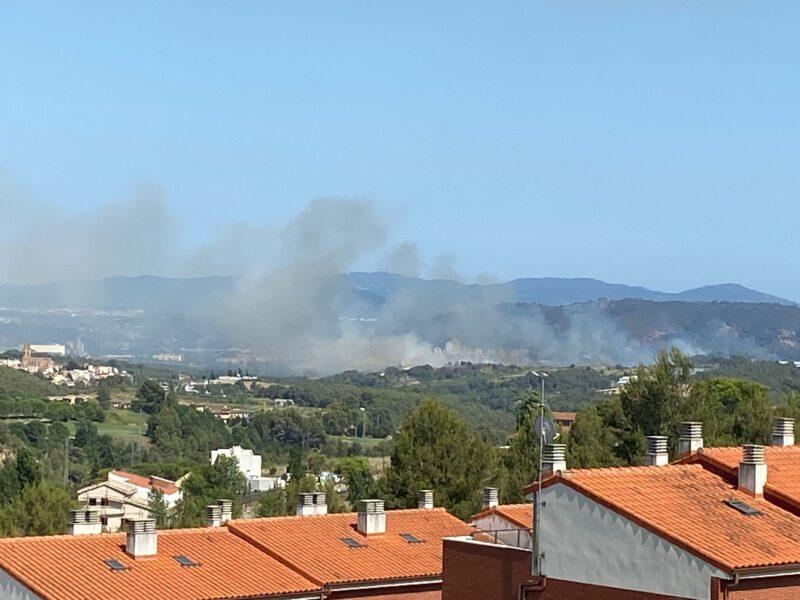 La Bustia incendi Sant Esteve 1 juliol 2021