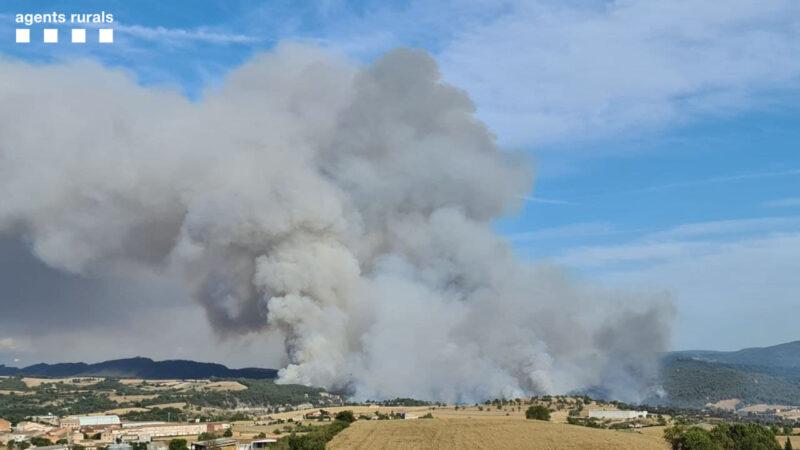 La Bustia incendi Santa Coloma de Queralt
