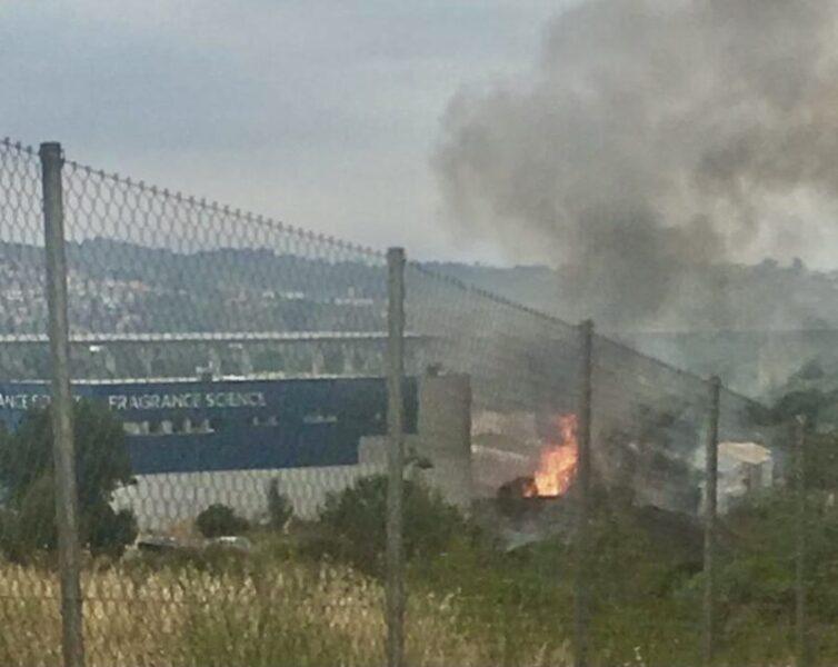 La Bustia incendi i explosio nau Olesa