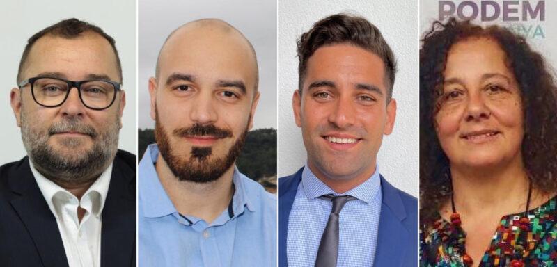 La Bustia portaveus grups Sant Andreu