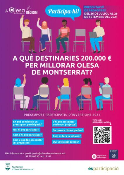 La Bustia pressupost participatiu 2021