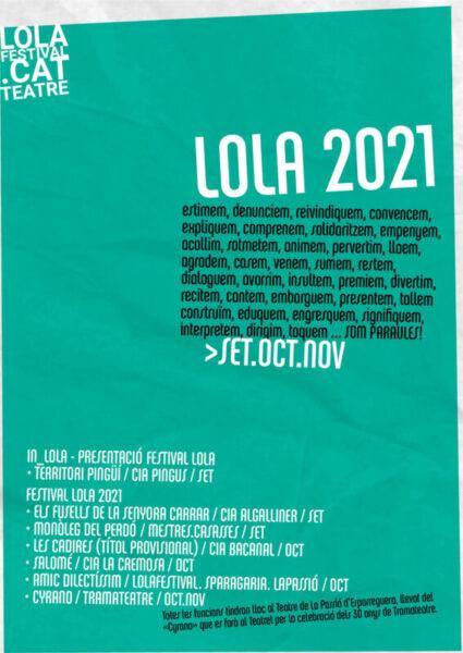 La Bustia programacio Festival LOLA Esparreguera