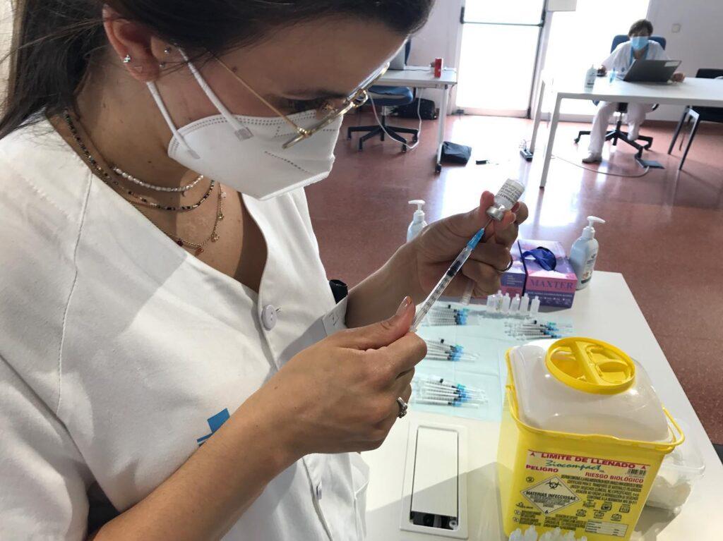 La Bustia vacunacio