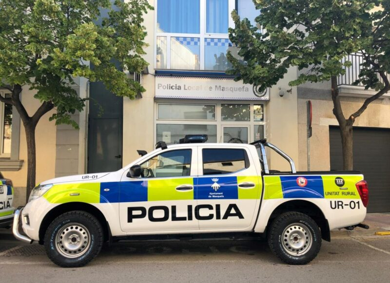 La Bustia vehicle Policia Local Masquefa