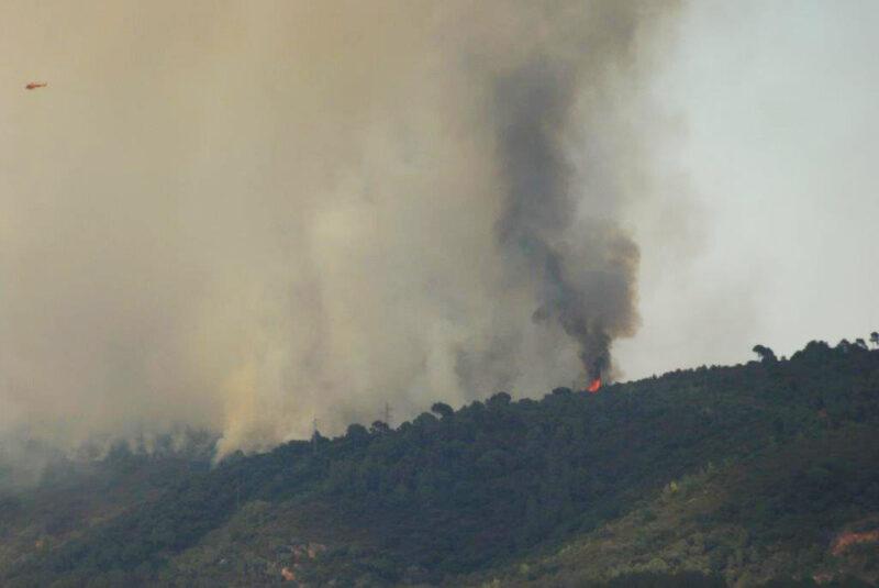 La Bustia vista incendi Castellvi Martorell 13 juliol 2021 1