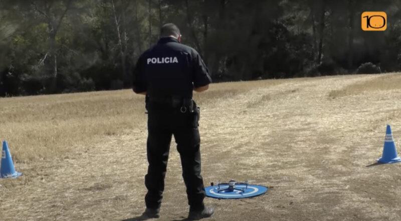 La Bustia vol dron policia i ADF Sant Esteve