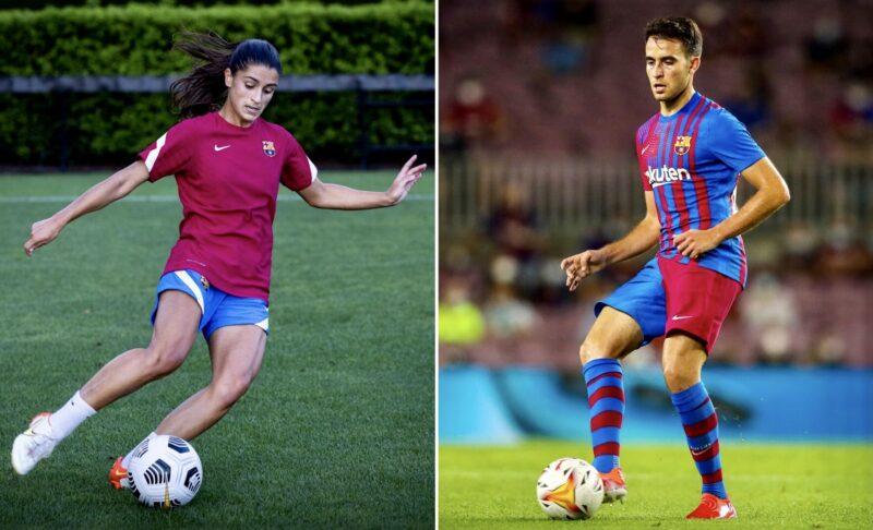 La Bustia Jana Fernandez i Eric Garciainici temporada Barcelona 2021 2022 Martorell Sant Esteve