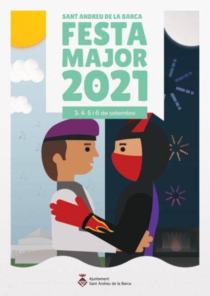 La Bustia cartell Festa Major Sant Andreu 2021