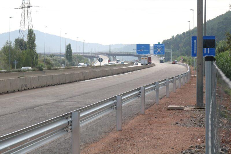 La Bustia enllac A2 AP7 Sant Andreu Castellbisbal