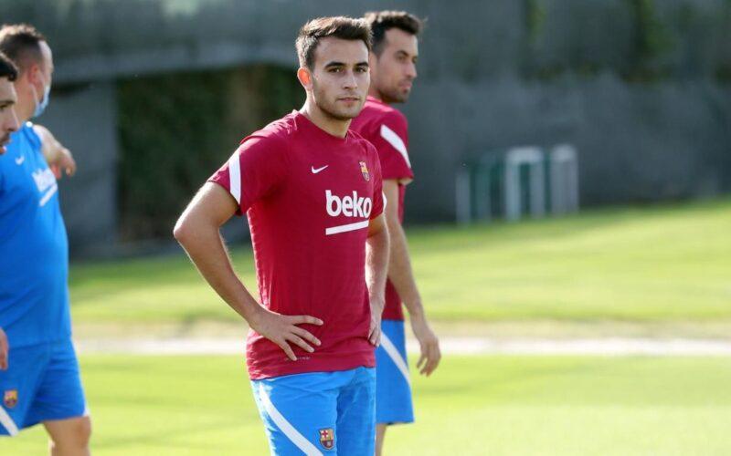 La Bustia entrenament Eric Garcia primer equip Barcelona Martorell