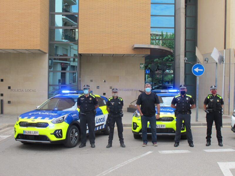 La Bustia vehicles Policia Local Sant Esteve (1)