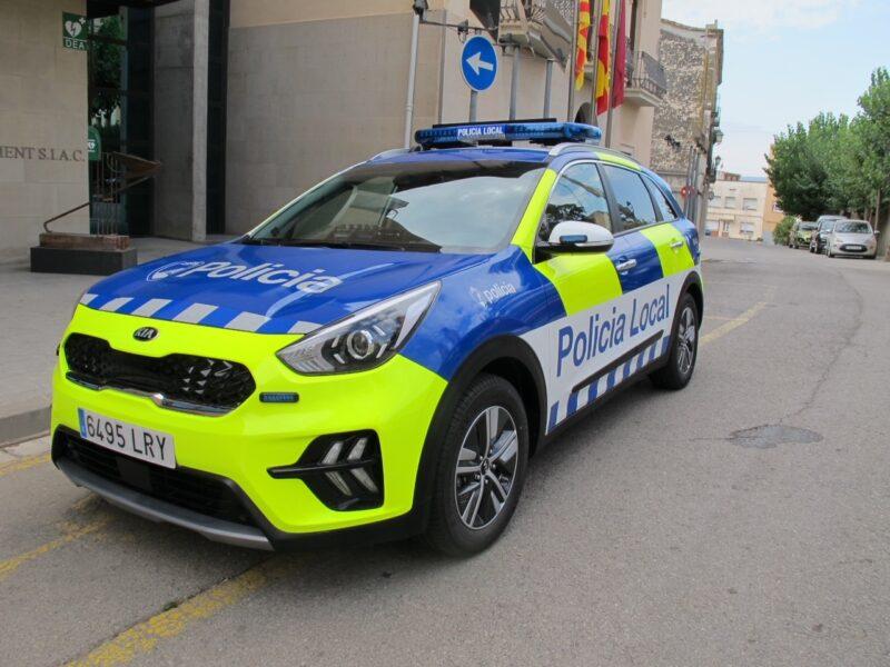 La Bustia vehicles Policia Local Sant Esteve (2)