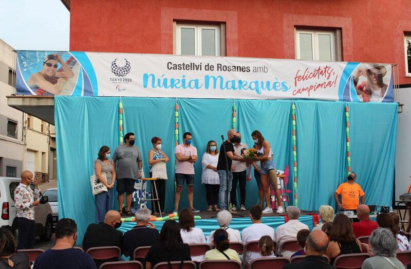 La Bustia Nuria Marques rebuda Castellvi (1)