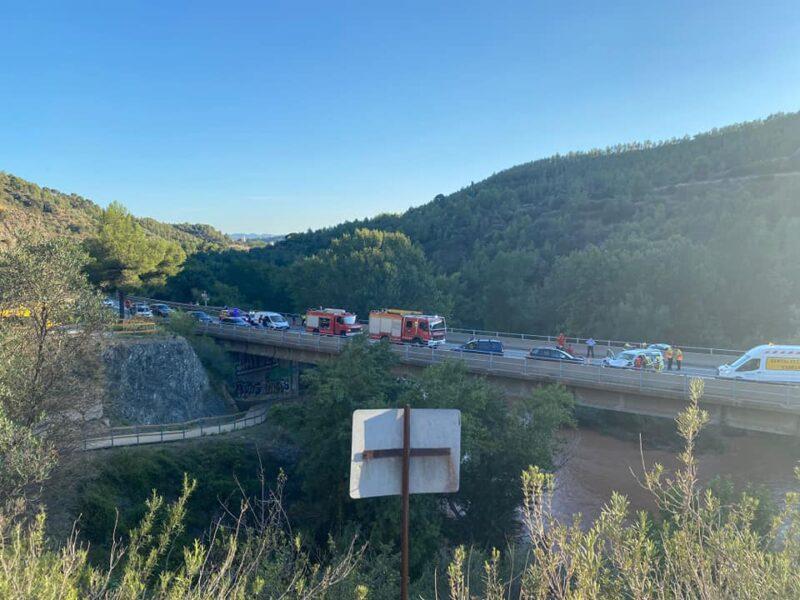 La Bustia accident C55 Olesa Esparreguera 17 setembre 2021 (2)