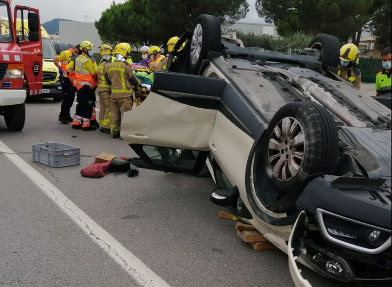 La Bustia accident Martorell