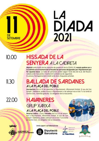 La Bustia cartell Diada 2021 Castellví