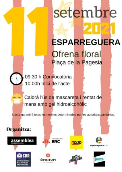 La Bustia cartell Diada 2021 Esparreguera 1