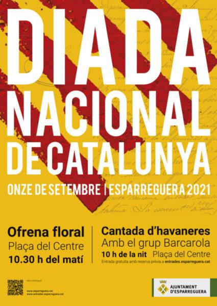 La Bustia cartell Diada 2021 Esparreguera