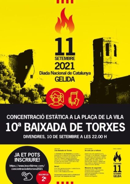 La Bustia cartell Diada 2021 Gelida