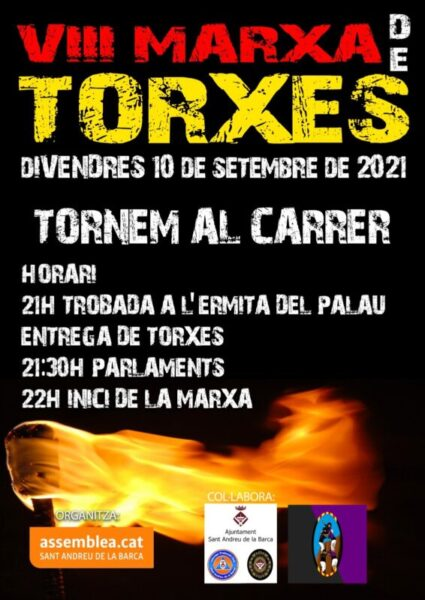 La Bustia cartell Diada 2021 Sant Andreu