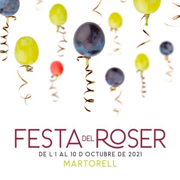 La Bustia cartell Festa del Roser Martorell