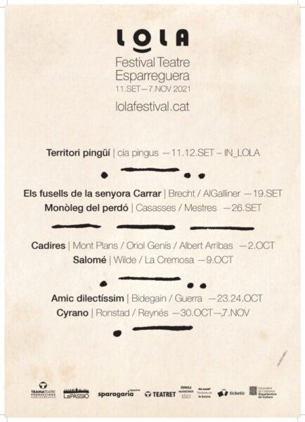 La Bustia cartell Festival LOLA 2021