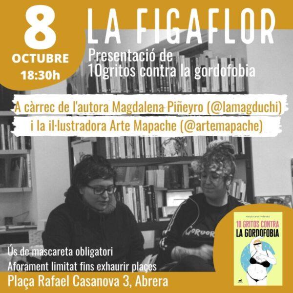 La Bustia cartell presentacio 10 gritos contra la gordofobia Figaflor