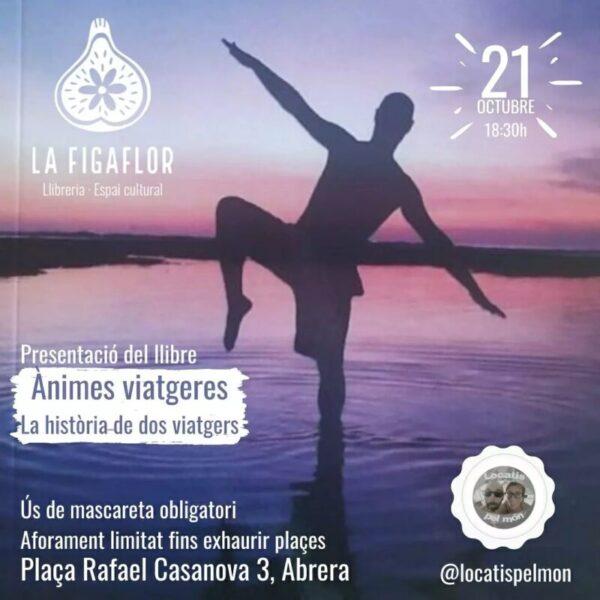 La Bustia cartell presentacios Animes viatgeres Figaflor