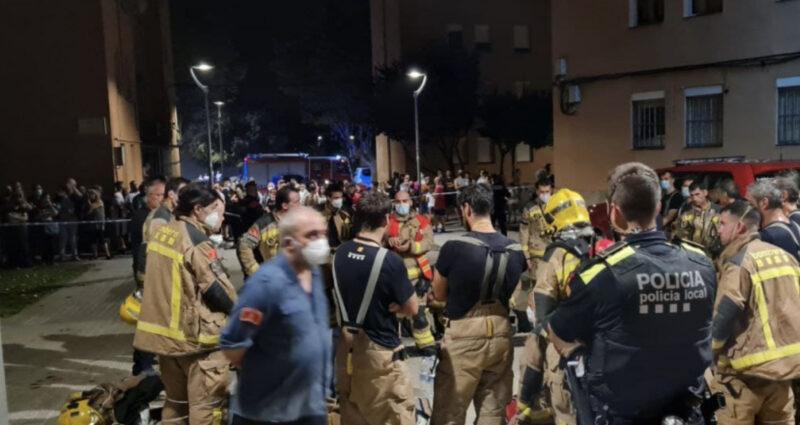 La Bustia incendi pis bloc Sant Bernat Olesa