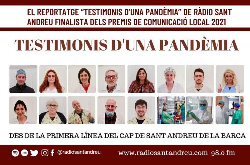 La Bustia reportatge Radio Sant Andreu 1