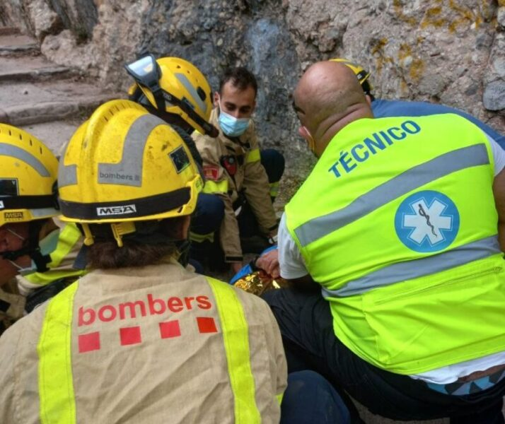 La Bustia rescat Bombers