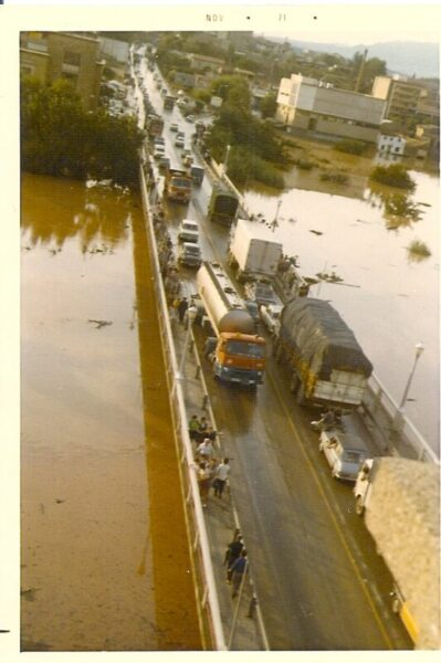 La Bustia riuada pont Anoia Martorell 20 setembre 1971 (1)