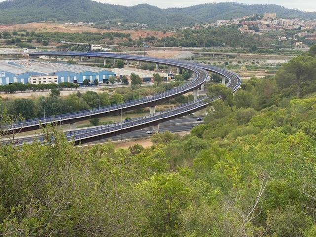 La Bustia viaducte del Llobregat Fem Sant Andreu