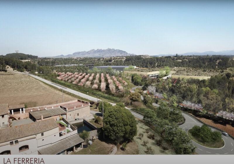 La Bustia 1 Ferreria 2 projecte Agroparc Penedes Gelida