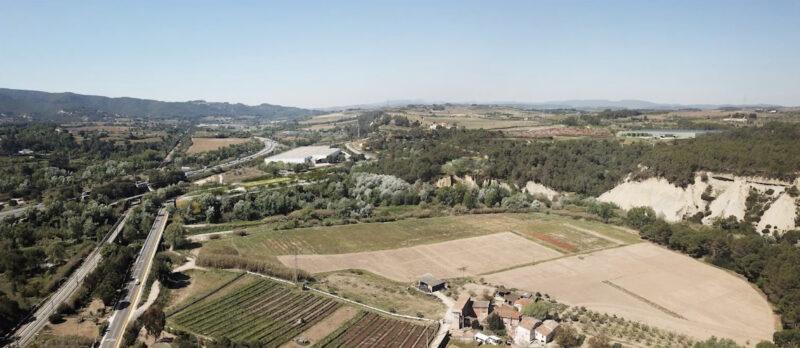 La Bustia 10 vista projecte Agroparc Penedes Gelida