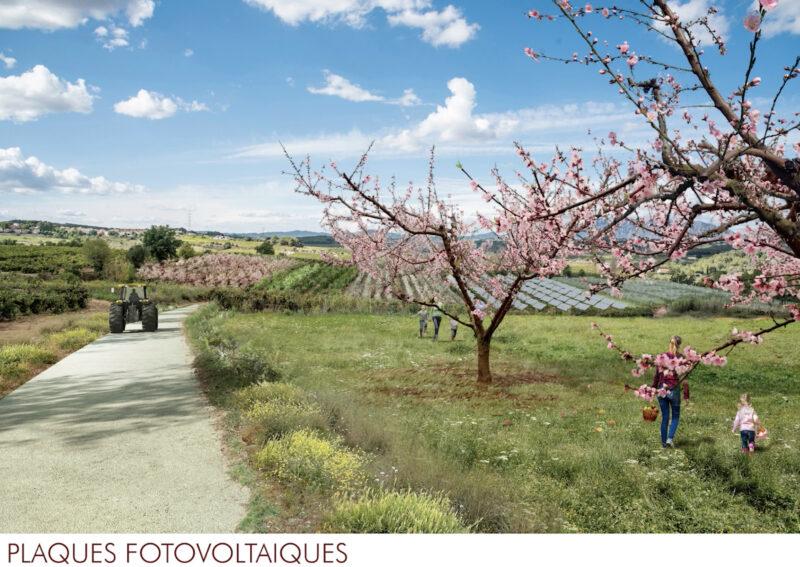La Bustia 2 plaques 2 projecte Agroparc Penedes Gelida