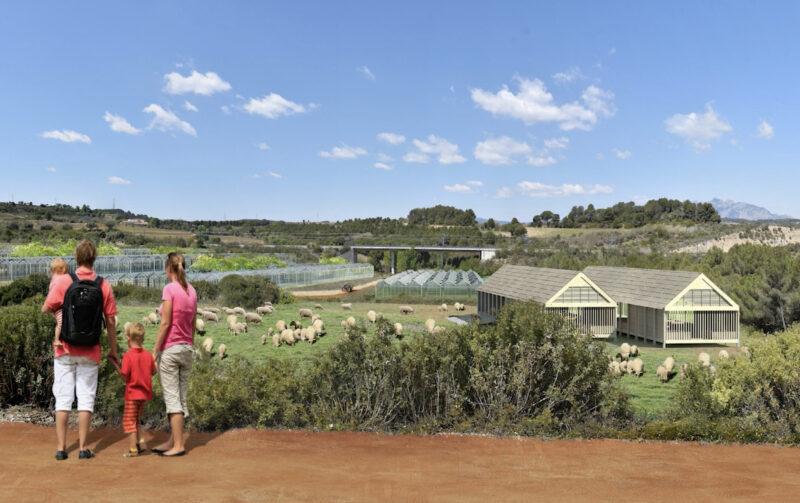 La Bustia 5 granja 2 projecte Agroparc Penedes Gelida