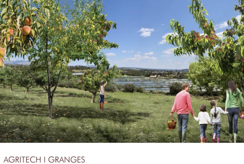 La Bustia 6 agritec 2 projecte Agroparc Penedes Gelida