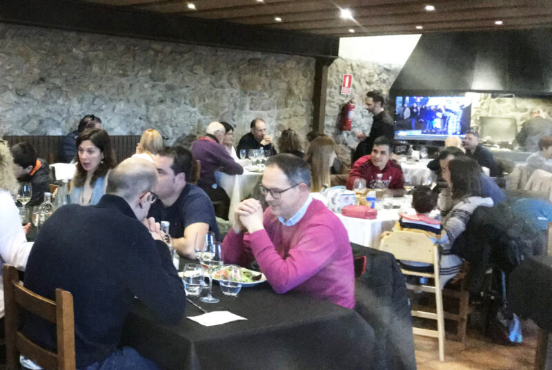 La Bustia Can Panyella restaurant Gelida
